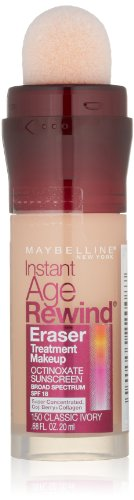 Maybelline Instant Age Rewind Eraser Treatment Makeup, Classic Ivory, 0.68 fl. oz.