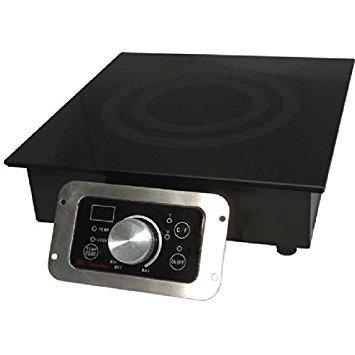 Mr. Induction SR-652R Built-In Commercial Range Induction Burner, 2700-watt ()