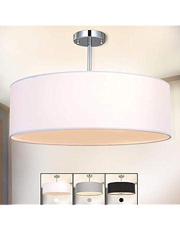 Dynamisch Deckenlampe Deckenleuchte Leuchte Lampe Silber Edelstahl 3er Strahler Garten & Terrasse