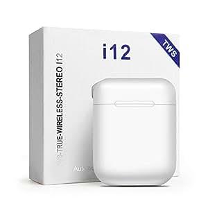 M&J i12 tws Touch control 1:1 Wireless Bluetooth 5.0 Earphones 3D air super bass Headphones pk i10 tws i20 pod for iPhone xiaomi