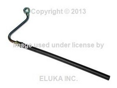 BMW Genuine Power Steering Hose - Steering Rack to Fluid Container for 318i 318is 325e 325i E30 (E30 Rack)