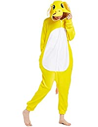 Adult Unisex Onesies Kigurumi Pajamas Cosplay Animal Sleepwear Gift Costume Outfit(Elephant)