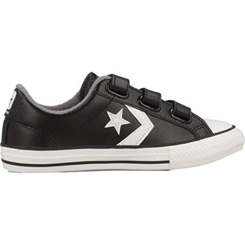 de Black Zapatillas Unisex Star 001 Converse Deporte Player White 3v Vintage Adulto Multicolor Mason wHSyI1