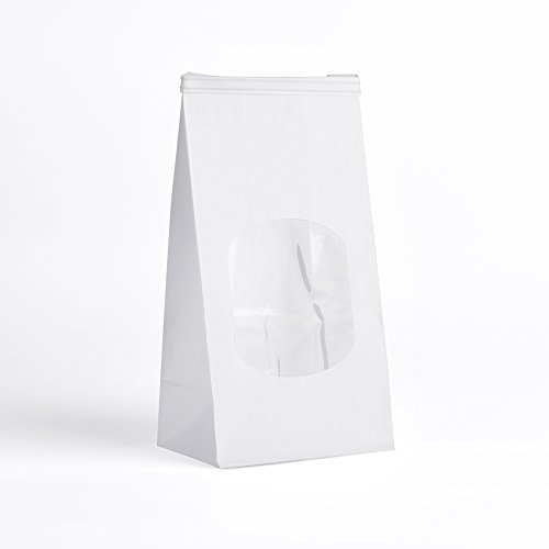 Halulu Bakery Bags, Paper Bag, Tin Tie Tab Lock Bags - 50PC