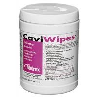 CaviWipes by Metrex Disinfecting Towelettes - Large 160/Cannister, Case of (Purpose Towelettes)