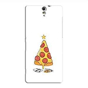 Cover it up Pizza Star Sony Xperia C5 Ultra Hard Case - White