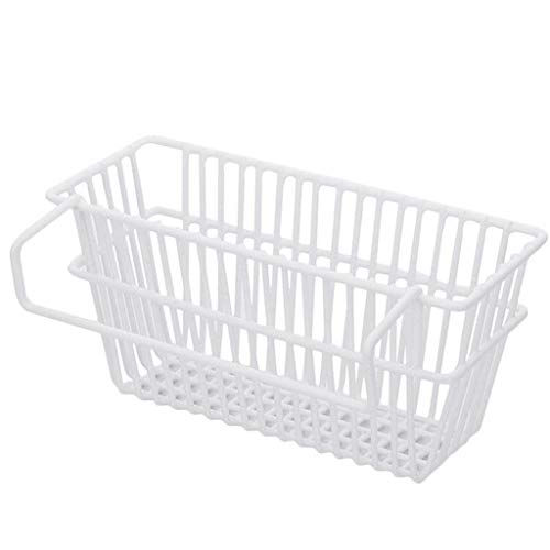 (NszzJixo9 Kitchen Sink Shelf - Adjustable Snap-on Sink Storage Basket Kitchen Rack Faucet Sponge Drain Rack, Soap Drain Holder Bathroom Hanging Caddy Basket Shelf)