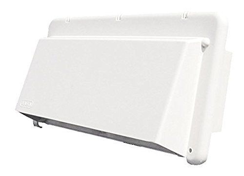 Heng's (J116AWH-C Bright White Exhaust Vent Cover by Heng's