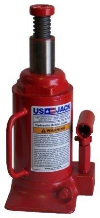 US JACK D-51125 12 Ton Bottle Jack Made In USA
