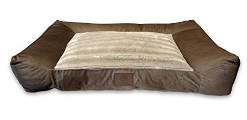 American Kennel Club AKC1885CHARCOAL Memory Foam Sofa Couch
