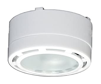 American Lighting LVPX20WH 120-Volt Under Cabinet Xenon Puck ...
