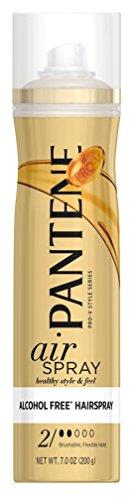 - Pantene Pro-V Style Series Air Spray Alcohol Free Hair Spray 7 oz (Pack of 3)