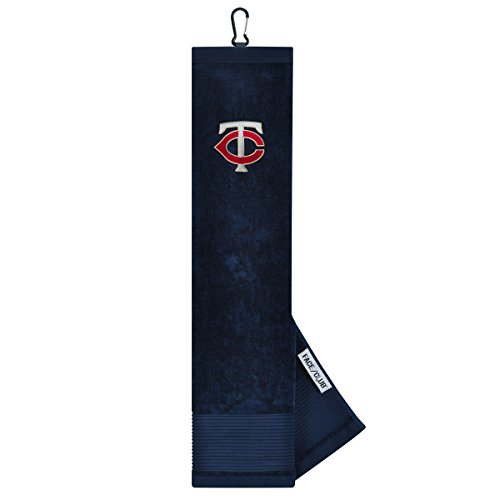 (Team Effort MLB Minnesota Twins Face/Club Tri-Fold Embroidered Towelface/Club Tri-Fold Embroidered Towel, NA)