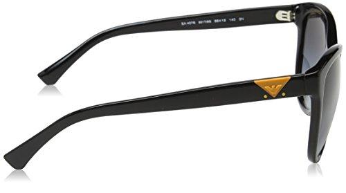EA4076 Emporio Sonnenbrille Armani Black 50178g 44qUafAxCw