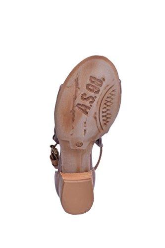 A.S.98 - Sandalias de vestir de piel para mujer GRUNGE+GRUNGE