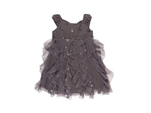 Biscotti Girls Blue Sleeveless Cherry Dress (Blue, 7) ()