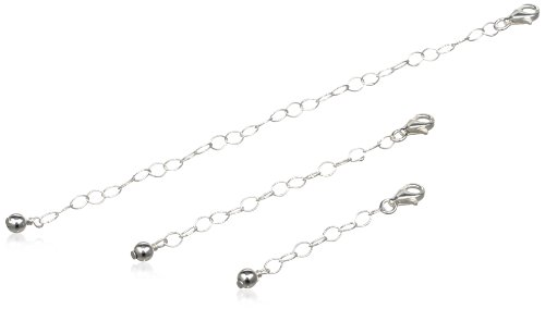 Sterling Silver Three Necklace Extenders