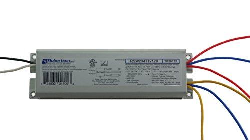 ballast for fluorescent light amazon com robertson 3p20132 fluorescent eballast for 2 f40t12 linear lamps preheat rapid start 120vac 50 60hz normal ballast factor npf model rsw234t12120 a