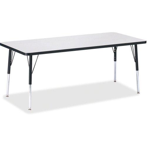 KYDZ Suite Rectangular Activity Table Leg Type: Standard Leg Elementary 15
