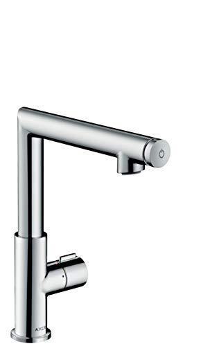 (AXOR Uno Select Single-Hole Faucet without Pop-Up, Medium, 1.2 GPM)