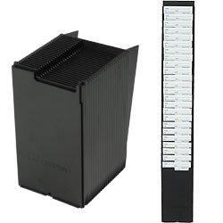 25 pocket wall mount time card holder rack upunch compatible fits all upunch time - Time Card Holder