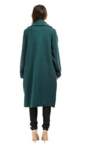 Bella blue - Abrigo LYNA - Mujer Verde