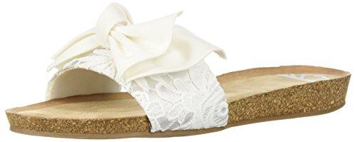 Sandalo Piatto Femminile Mallé Fergalicious Bianco