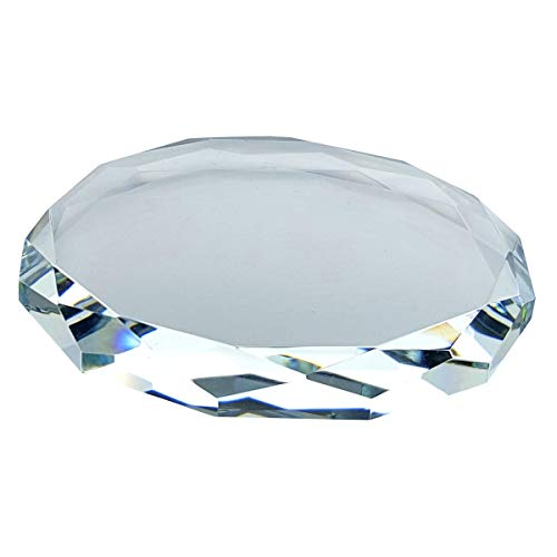 Crystal Florida 3.5, Crystal Riser Disk for Your Crystal Figurines and Other Valuable Collectibles - (3.5 Round)