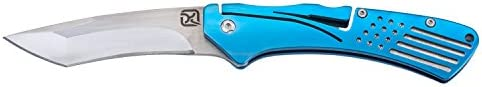 Klecker Knives TG-14 Slice 3.4 Blade Folding Knife, Blue