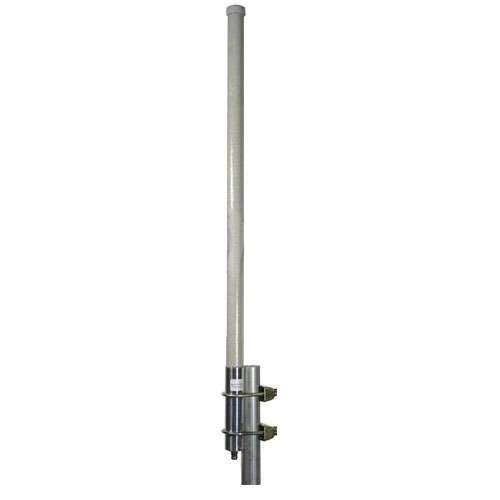 L-com HG2415U-PRO 2.4GHz 15dBi Omnidirectional Antenna N-Female by L-com