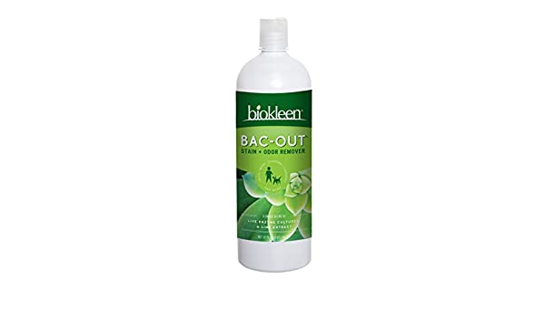 Bac-Out, las manchas y olor Remover, 32 oz fl (946 ml) - Bio Kleen: Amazon.es: Salud y cuidado personal