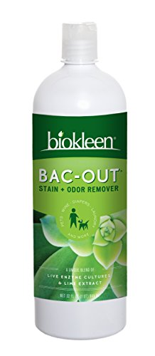 Biokleen Bac-Out Stain+Odor Remover, 32 oz (Pack of 12) by Biokleen
