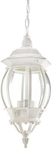 Nuvo Lighting 60 894 Three Light Hanging Lantern, White