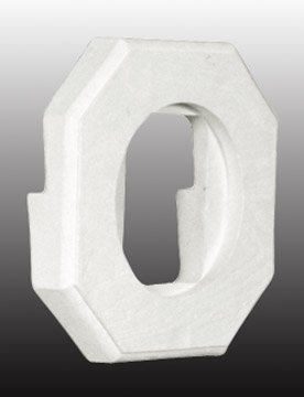 Special Lite Products LB-8040-U Light Block - Fits 1/2-Inch Lap Siding, White