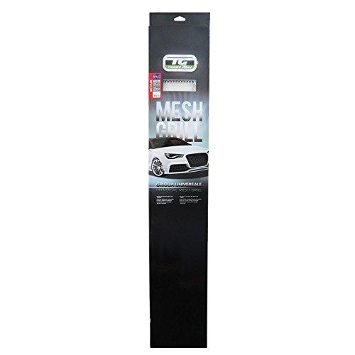TUNING GURU 1108393 Griglia Alluminio 120 x 20 cm Cromato