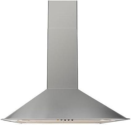 IKEA VINDRUM - pared campana extractora, acero inoxidable - 60 cm: Amazon.es: Hogar
