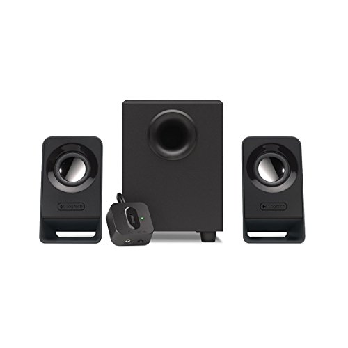 Logitech Z213 3 Piece 2.1 Speake System w/ 4 Speaker System with 4' Subwoofer (Certified Refurbished)