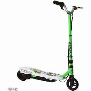 surge boys 39 12v electric scooter green. Black Bedroom Furniture Sets. Home Design Ideas