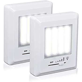 DEWENWILS COB LED Night Light, Battery (Included) Operated