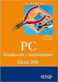 libro mantenimiento PC