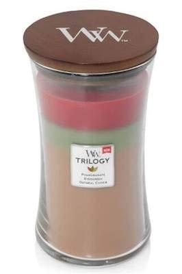 WoodWick Joyful Gatherings Trilogy 22 oz Scented Jar Candles - 3 in One