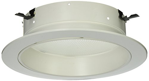 "Elco Lighting EL642W 6"" CFL Sloped Reflector with Regressed Albalite Lens - EL642 (CFL Sloped) ()"