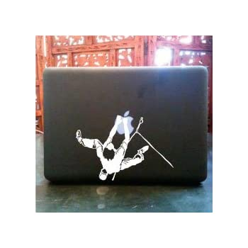 Amazon.com: Climbing on Rope Pegatina de Vinilo Para Macbook ...