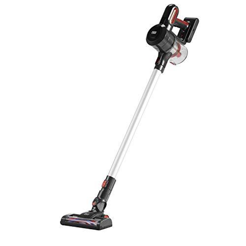 Tulib A19-120R Cordless Stick Vacuum Cleaner, Dark Gray