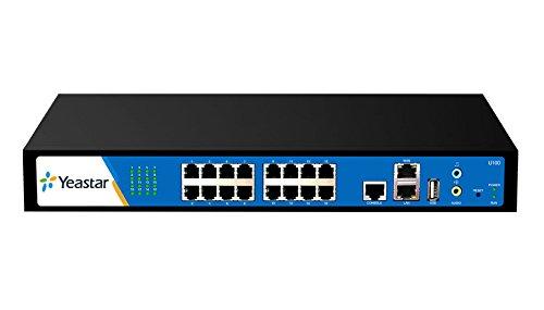 YeaStar MyPBX U100 U1040 VoIP SIP IP Rack PBX 100 Ext Skype 0 FXS 8 FXO 0 GSM (U1040)
