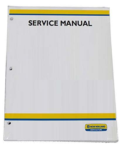 - New Holland TC31DA, TC34DA Tractor Workshop Repair Service Manual - Part Number # 87531021