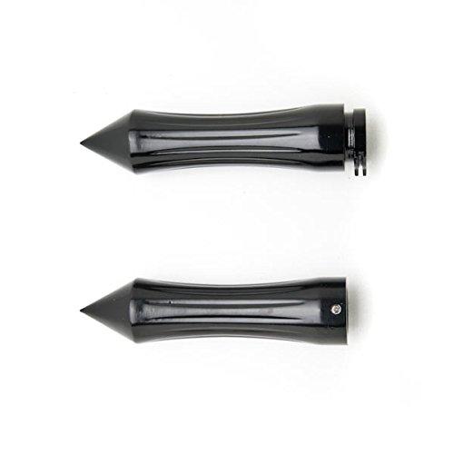Motorcycle Hand Grips 1 Inch Handlebar Bars Pair For Kawasaki VN Vulcan Classic Drifter 800
