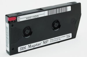 IBM Linear Tape Magstar MP 3570 C Mo del Fast Access 5GB by IBM