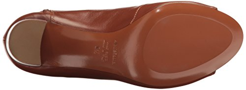 Cognac Calf Suede Stefania Ankle Boot Women's Aquatalia 0cqEZ8xwY8