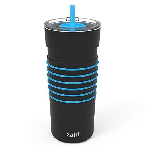 Amazon.com: Zak Designs HydraTrak - Vaso de acero inoxidable ...